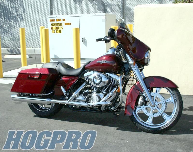 #130 Hogpro '08 Street Glide