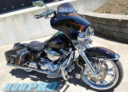 "#251 Hogpro Titan Chrome 21"" 16"" 2002 Road King"