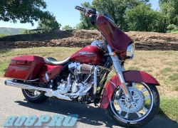 "#252 Hogpro Valor Chrome 19"" 18"" 2010 Streetglide"