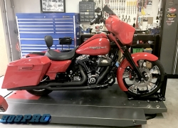 "#227 Syndicate Platinum Cut 21"" Streetglide"