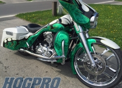 "#219 Chrome Valor 23+ 16"" Streetglide"