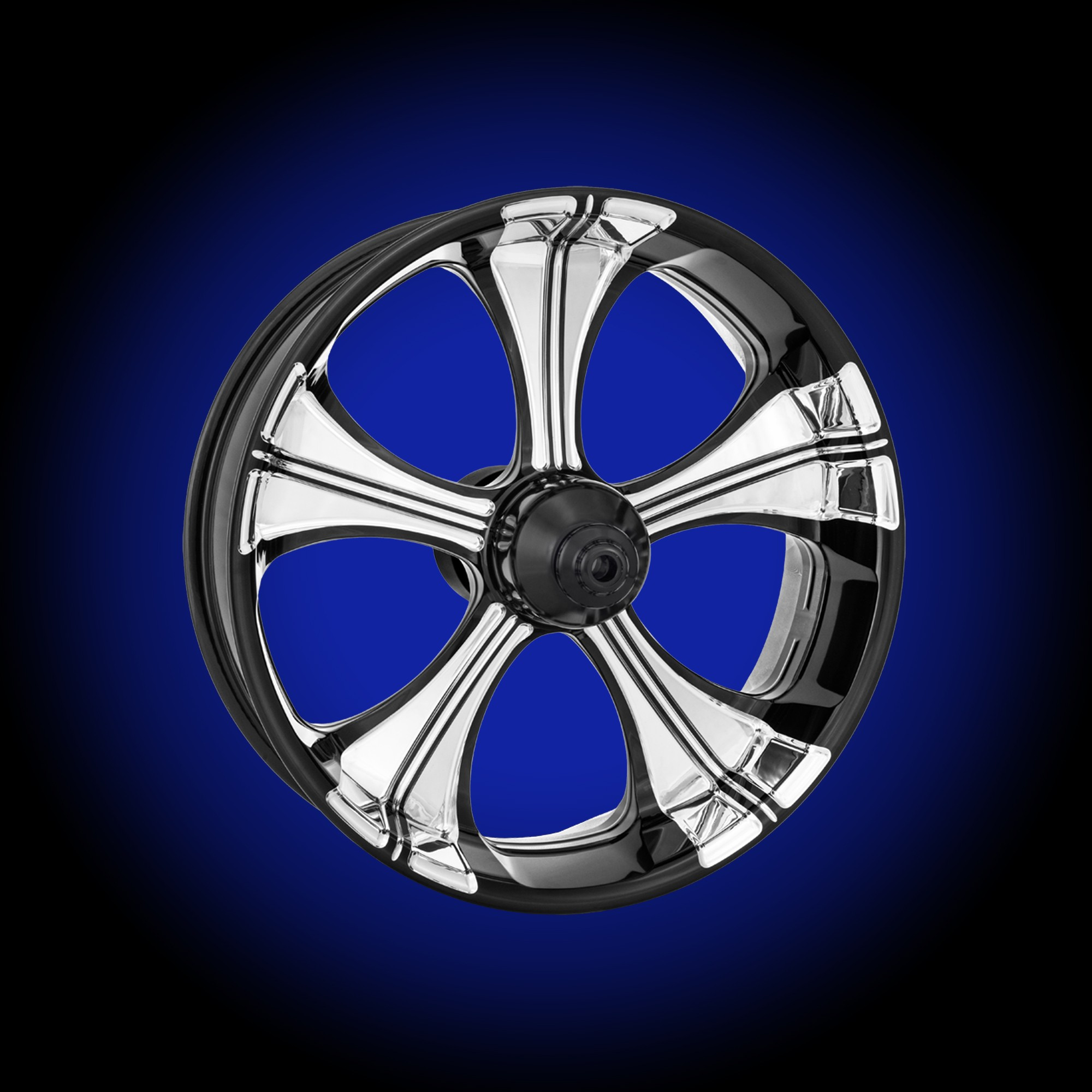 platinum parts virtue wheels touring performance machine cut contrast forum new polished