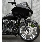 "DEVIATE CHROME 21 + 18"" BAGGER PACKAGE"